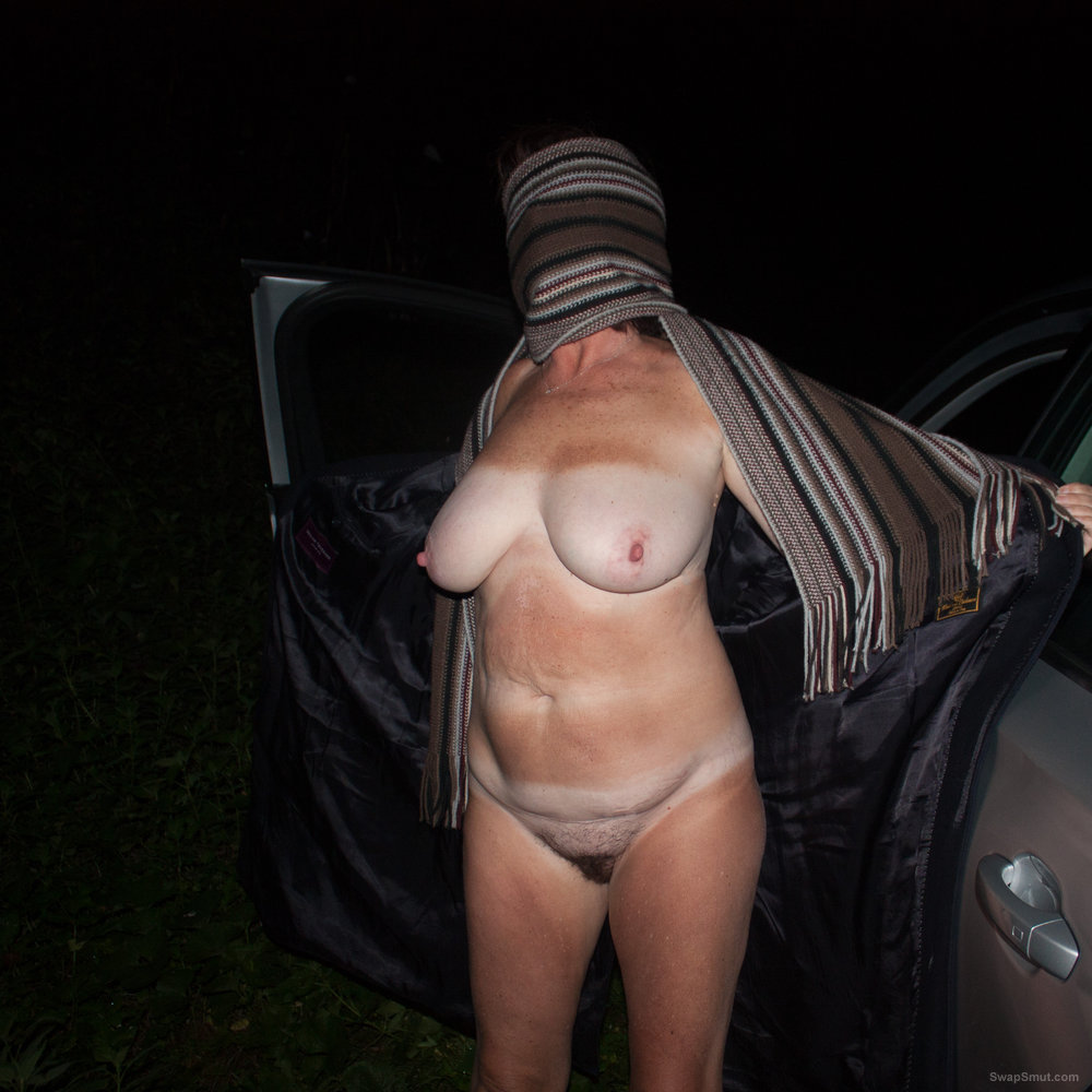 Wife naked with strangers