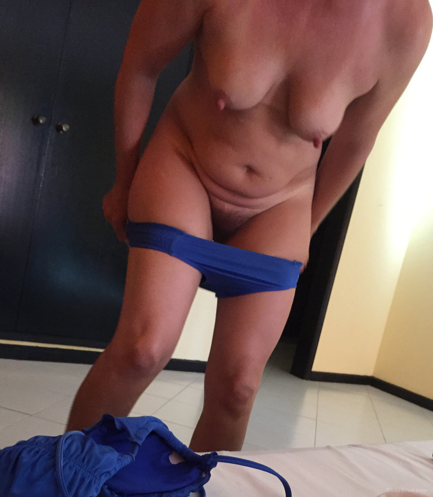 Luxurious shower and excited nipples