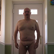 Exposed naked faggot Andrew S does more Locktober