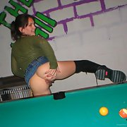 flashing wife loves to pull up her skirt in public