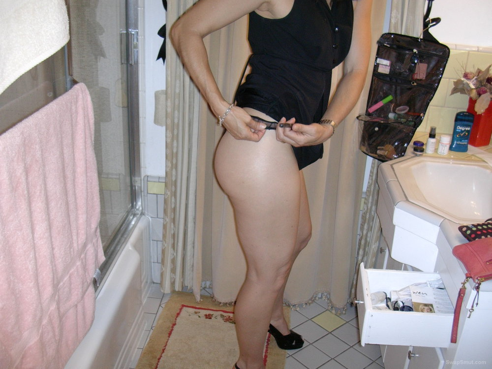 Black see through panty fuck adventure hairy pussy peeking out