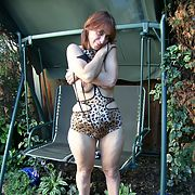 Mature whore enjoys a rest from fucking