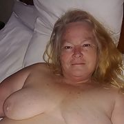 58 year old BBW wife showing naked body