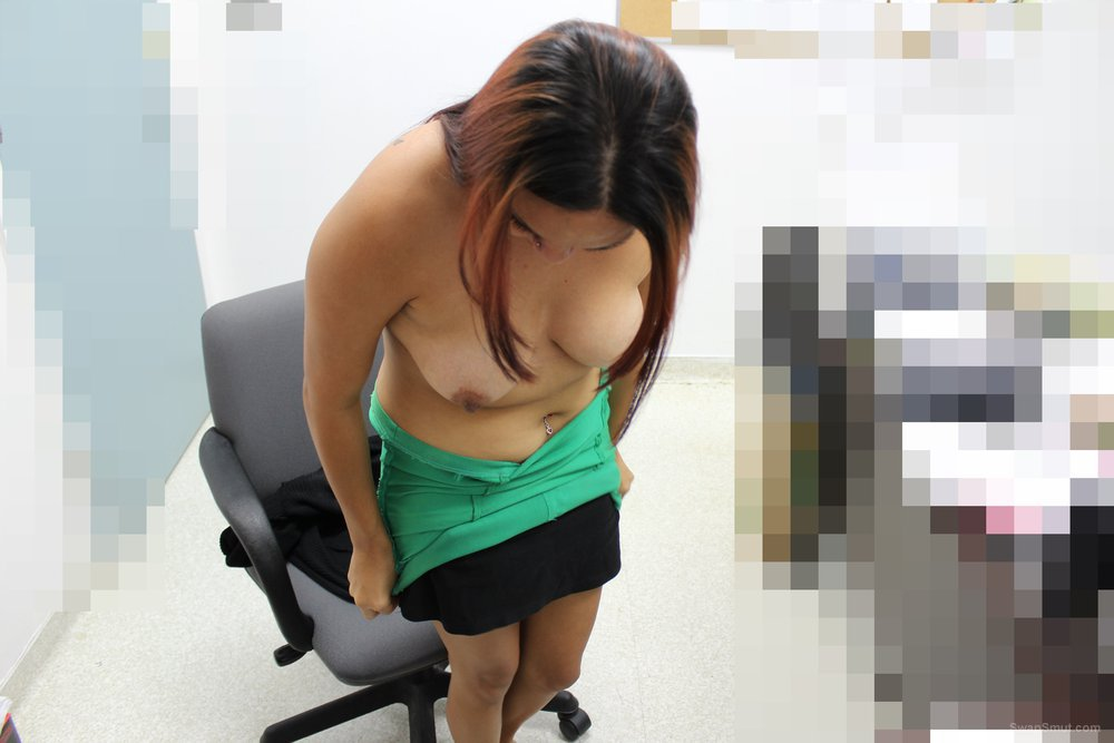 Ass fuck and facial in someone's office daring sex while at work place