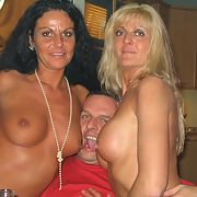 Bisex wives wild swinger partner swapping