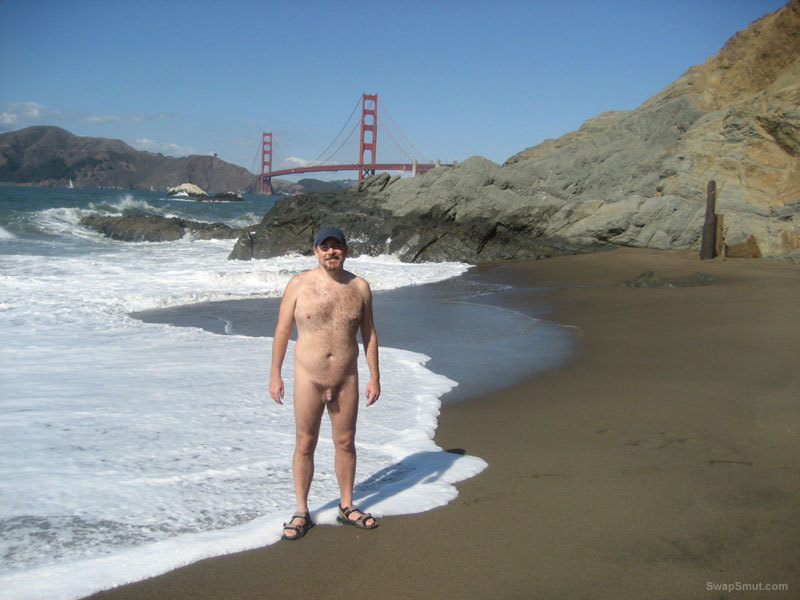 Photos of me on various nude beaches
