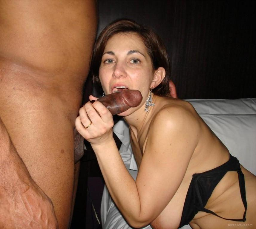 Sexy Rebecca being shared while hubby watches and take snaps