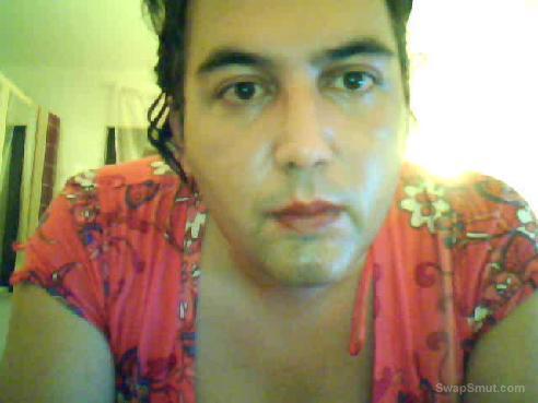 Ich im süssen Frauenkleidchen