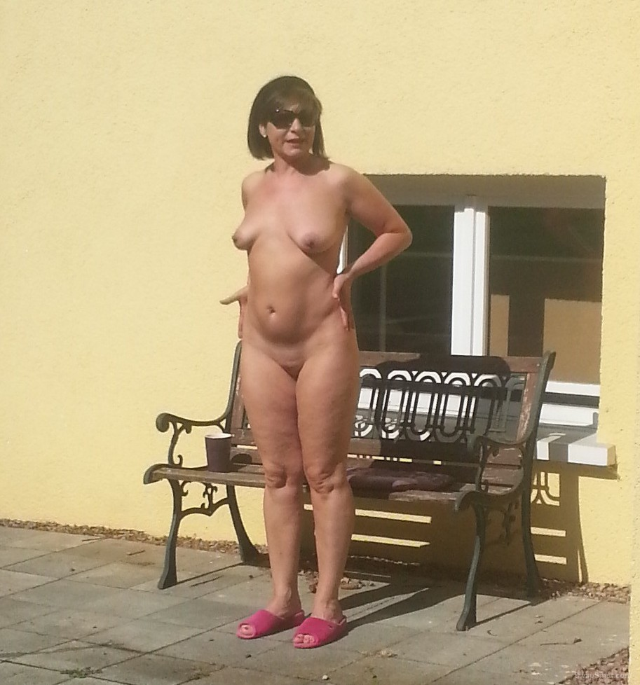 Idea)))) Back garden nudist pics topic simply