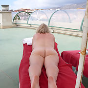 Sexy blond wife wants you to see her naked body