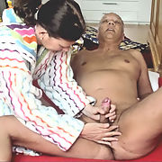 Porn Actor Cane blowjob and masturbation action