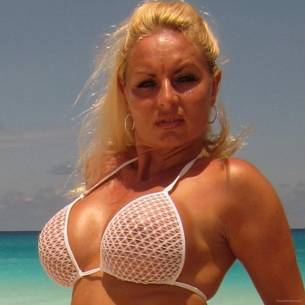 My sexy beachwear on the beach