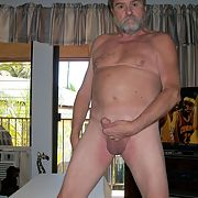 Me naked and showing off my cock and balls