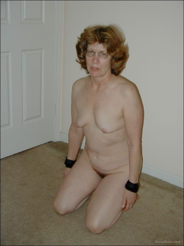 Wife Dressed Undressed Exposed in Bondage