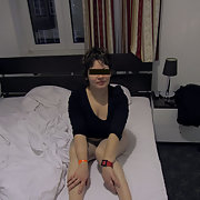 My wife Natalya naked in german hotel room