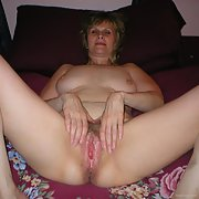 sexy mature wife strutting her goodies