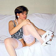 White Stockings & Shoes