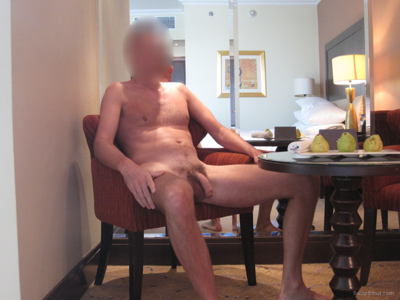 Some naked pics of me and my cock in hotel room