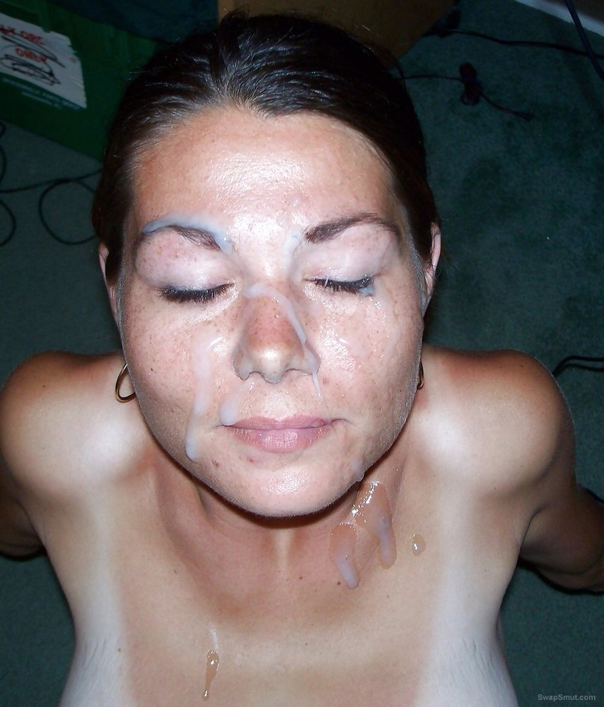 Mary the slave slut ready for a god facial good to cum