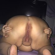 My wet and wide open pussy and ass