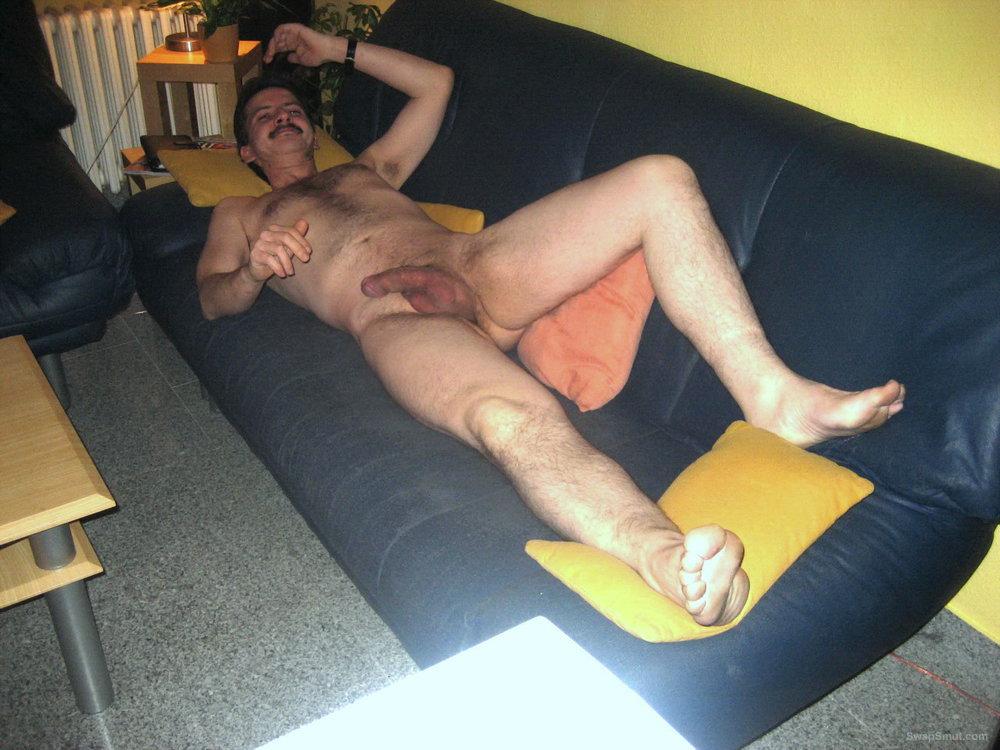 Some nudes of me at home Einige Bilder mit Gesicht von mir