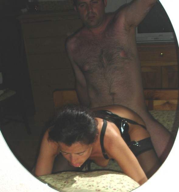 Fucking brunette bitch sucking and having sex hard and deep