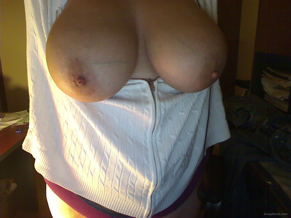 those big boobs on the front of my webcam