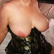 Beautiful Real Wife Cassie showing her goodies