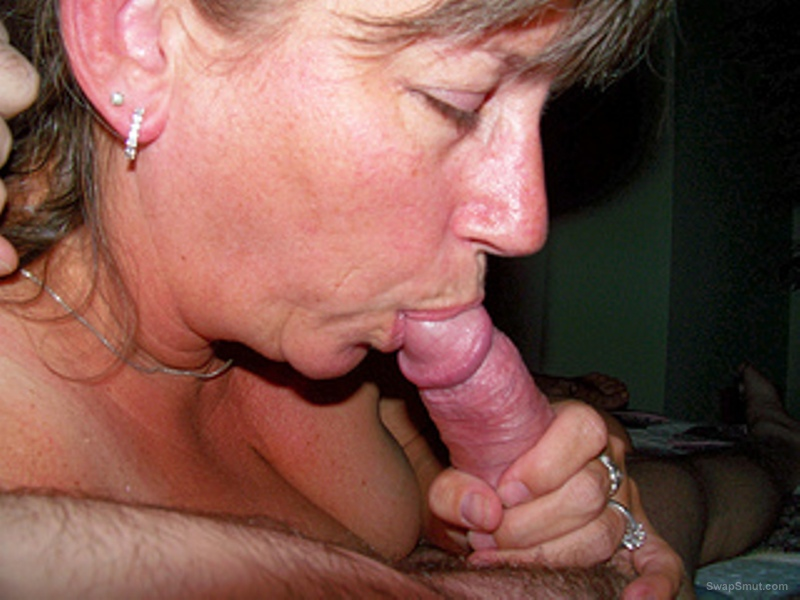 Addicted to sucking off mature cocks wife acquires taste for spunk
