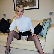 Busty Milf white panty upskirt pictures