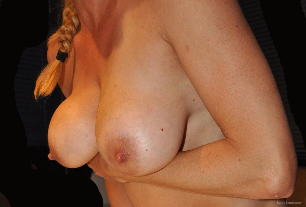 Mature fuck slut believes that her tits are great and her cunt