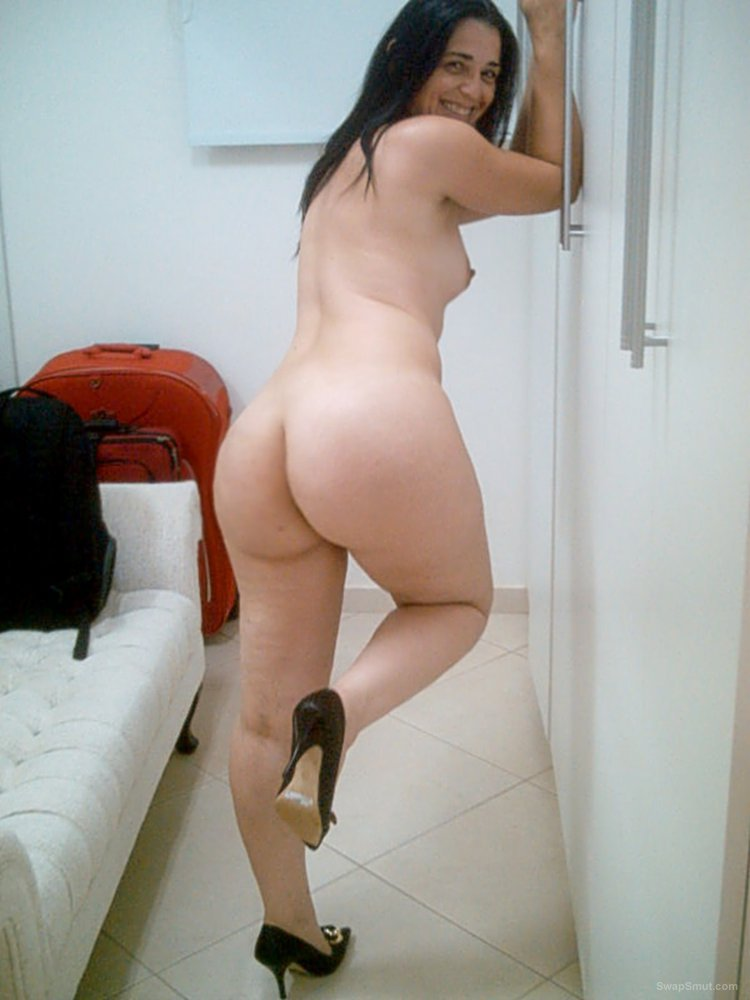 My Curvy Brazilian Wife showing her juicy legs