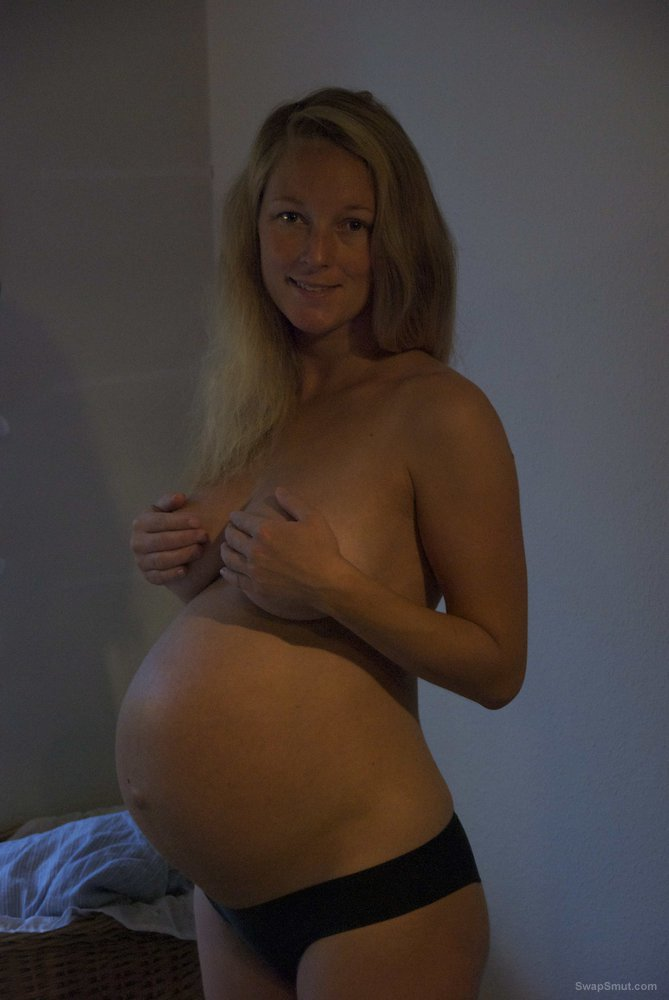 Pregnant wife and topless sunbathing pictures