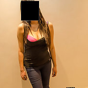 My sexy slut wife likes to show her body, she likes acting slutty