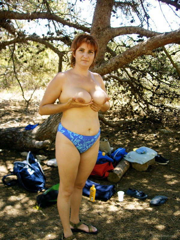 Nice weekend at a nudist beach enjoying the sun shining