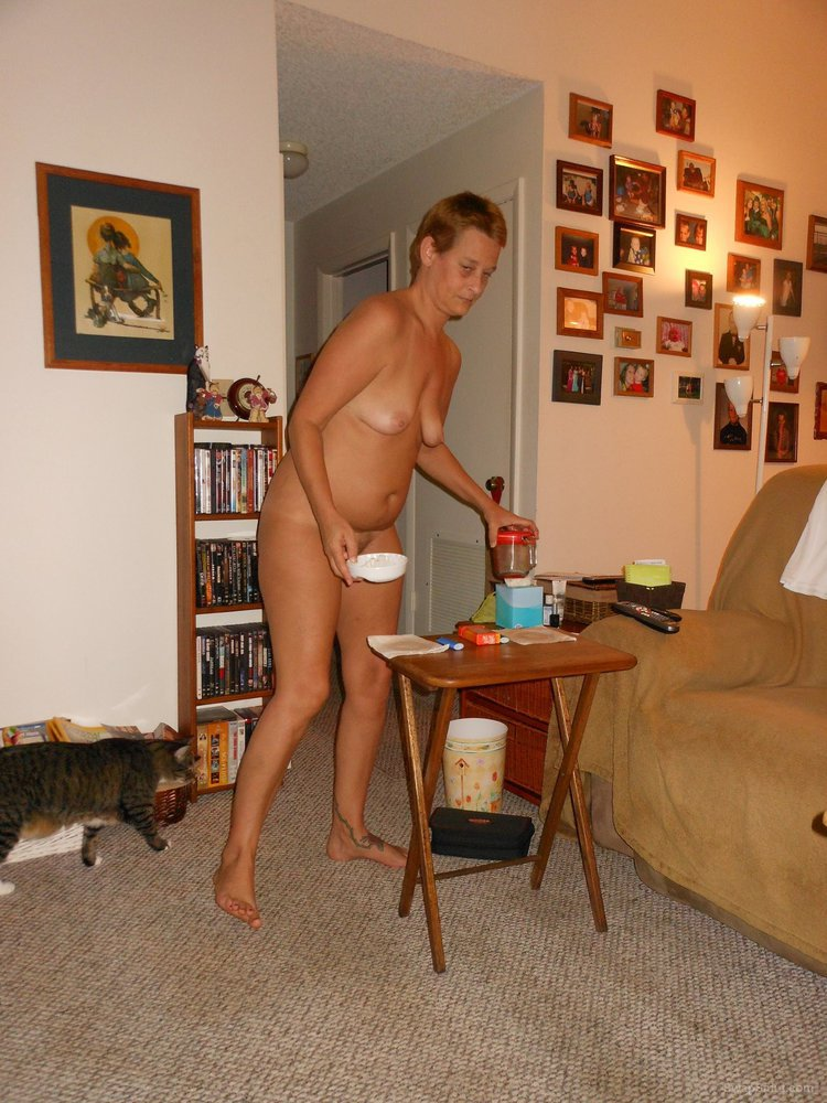 Nude wife house