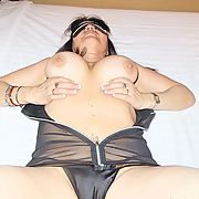 Italian Wife in her Undercover cover outfit
