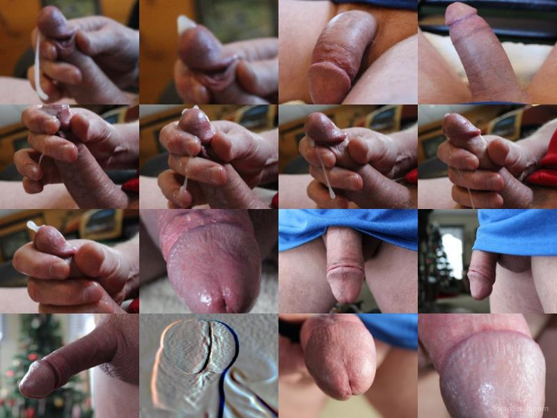 Some more fun with my cock today do you like these pics