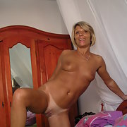 My nice mature showing us her body for our pleasure