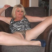 Stunning mature friend wearing stockings she is a true slut