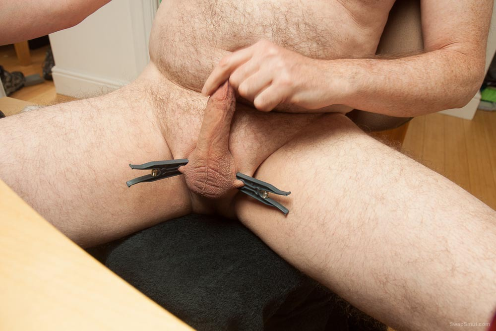 Some self cock and ball play with pegs