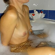 The tub 2 take a hot bath with my wife fancy joining her