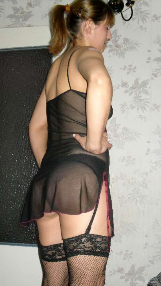 Me posing in stockings part 1 Please comment