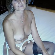 Housewife at home naked for all to see