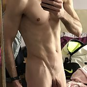 Out of the shower and feeling horny