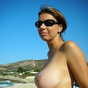 Wife in lingierie revealing her lovely breasts