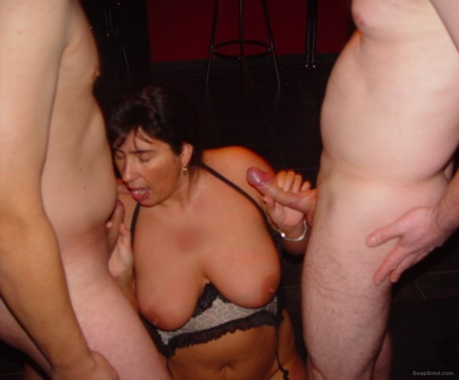 Phat ass wife having sum cum fun with two cocks