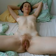 French Milf Audrey Spreads Like An Eagle, showing her wet pussy