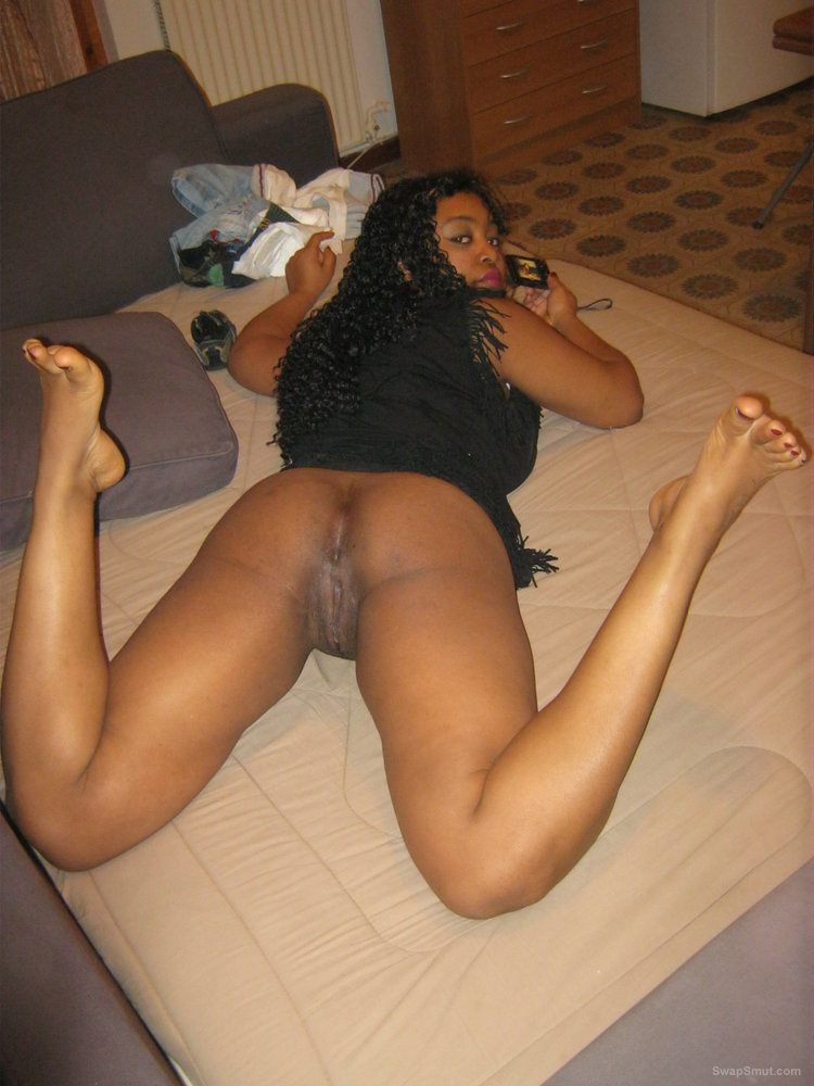Big Booty Black Milf Homemade