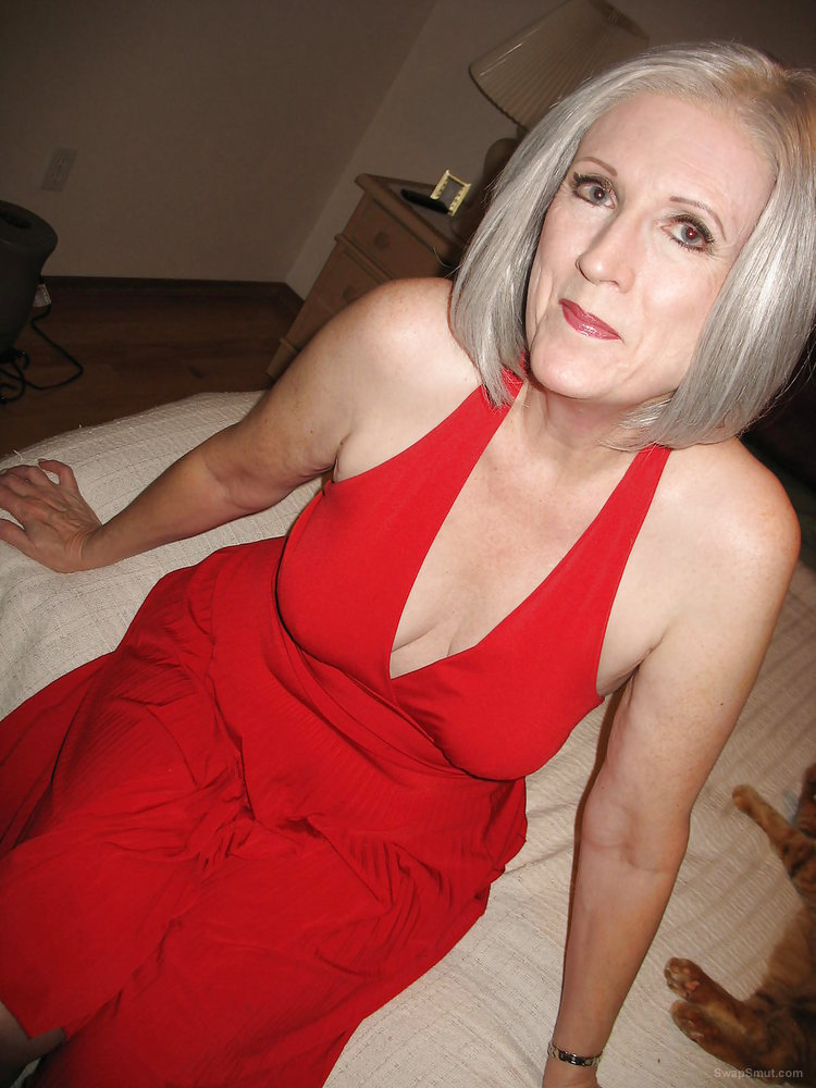 Theresa Red Dress Playing with Pussy Theresa Red Dress Playing with Pussy